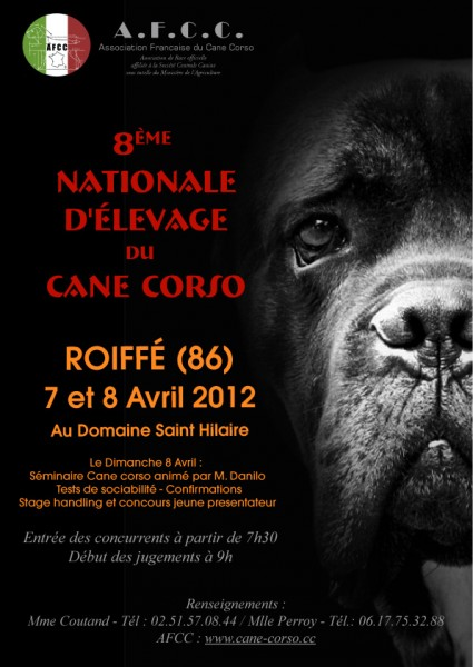 Concours Canin National  Domaine Saint Hilaire